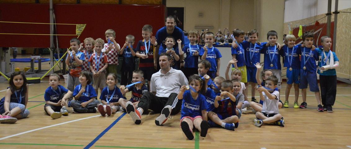 Sport za djecu svih uzrasta u sportskoj školi Olimpići